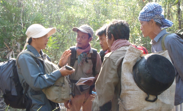 Training community rangers