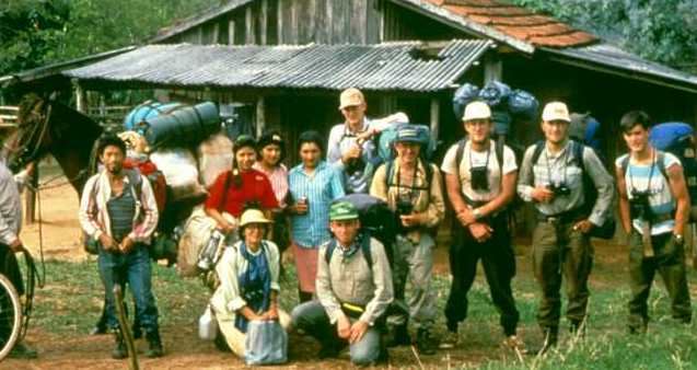 Tom Brooks and the CANOPY team in 1992