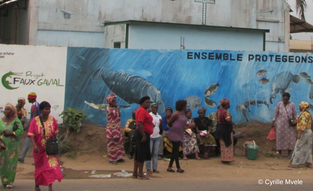 CLP News Embedded images - Gabon croc mural